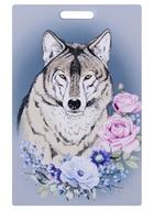 Чехол для карточек Аnimals in Flowers. Волк