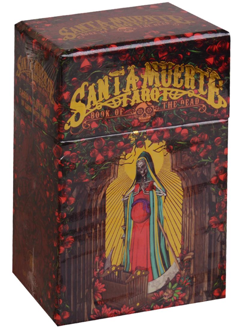 Listrani F. Santa Muerte Tarot = Таро Святой смерти. 78 карт + книга moore b the book of shadows tarot книга теней таро 2 колоды карт