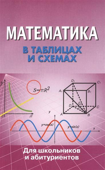 Математика в таблицах и схемах Для шк. и абитур.