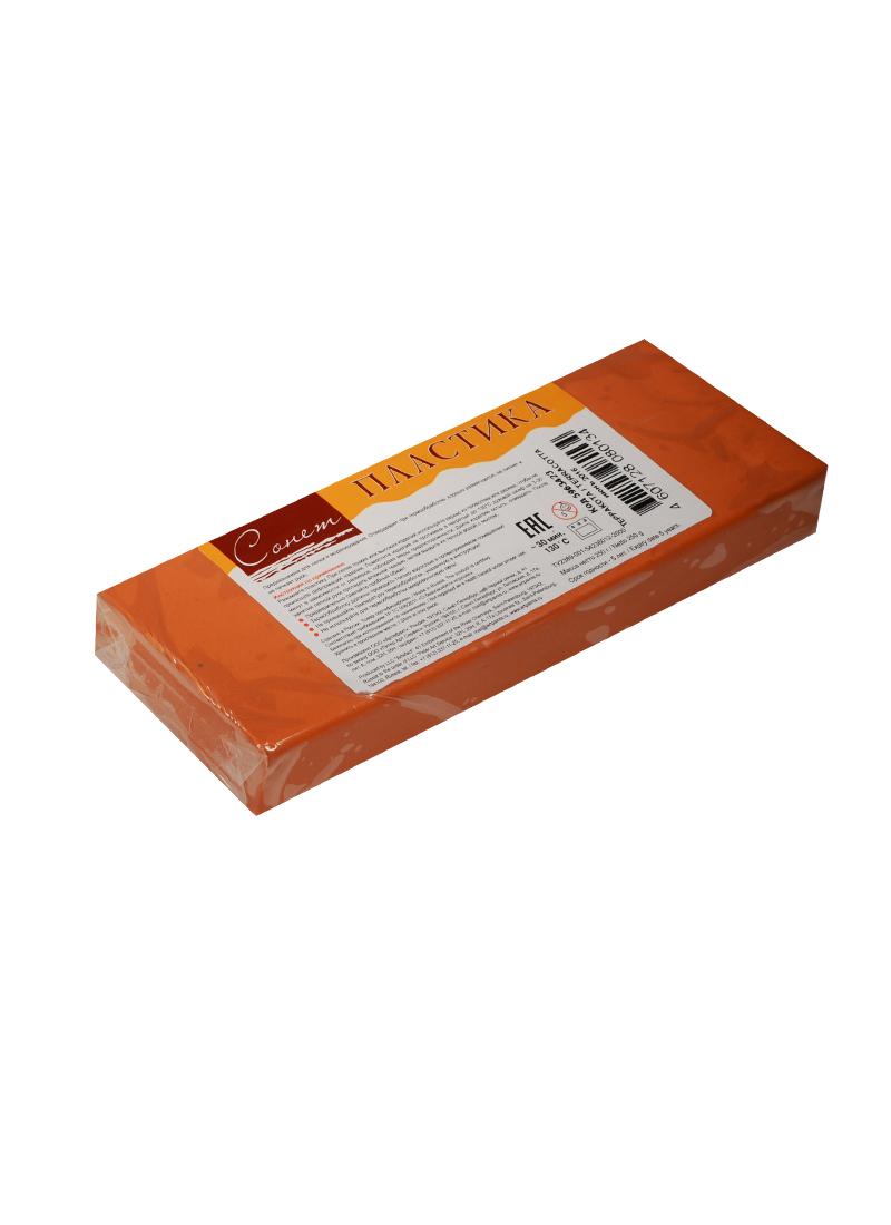 Пластика цветная СОНЕТ (терракот) (брус) (250 г.) (завод художественных красок)