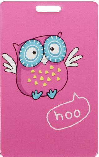 """Чехол для карточек """"Сова: hoo"""""""