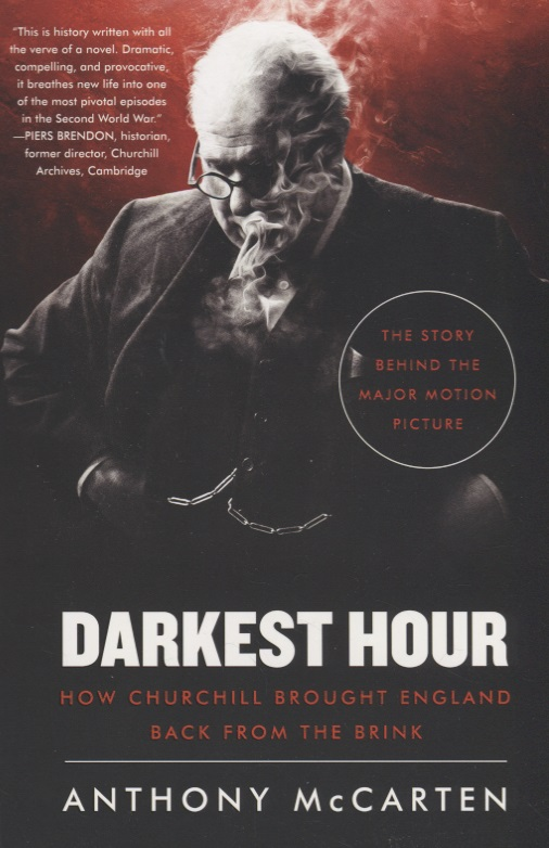 Фото - McCarten A. Darkest Hour: How Churchill Brought England Back from the Brink contrast lace keyhole back blouse