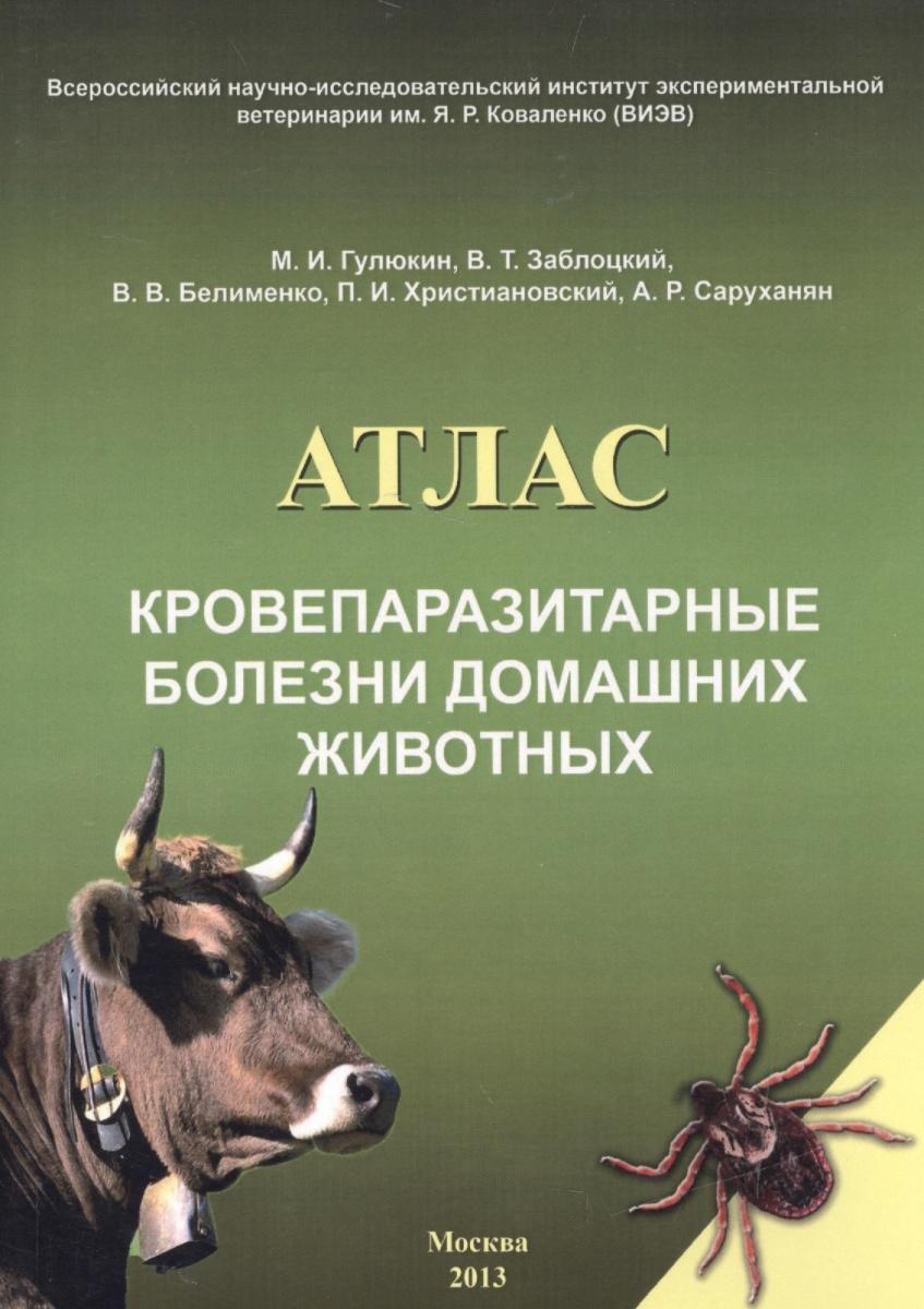 Кровепаразитарные болезни домашних животных. Атлас
