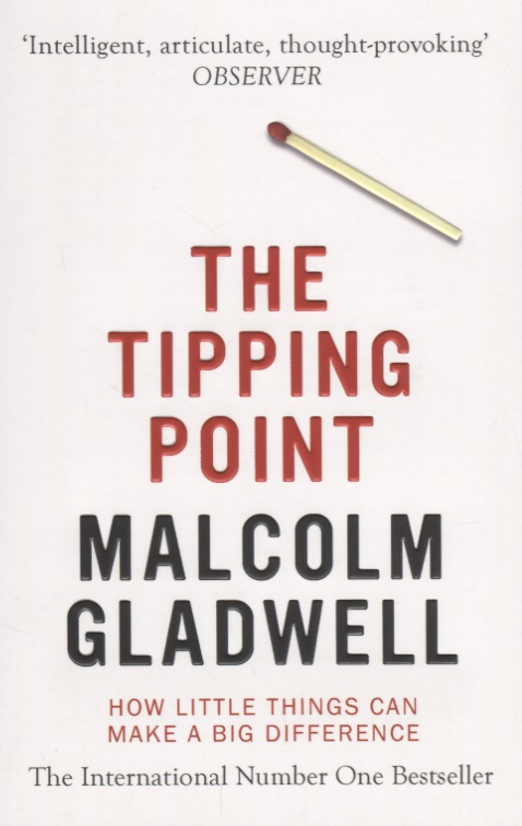 Gladwell M. The Tipping Point. How Little Things Can Make a Big Difference new original cp1h xa40dr a plc cpu 100 240vac input 24 point relay output 16 point