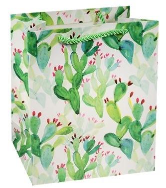 """Пакет подарочный бумажный А5 """"Цветы акварель"""""""
