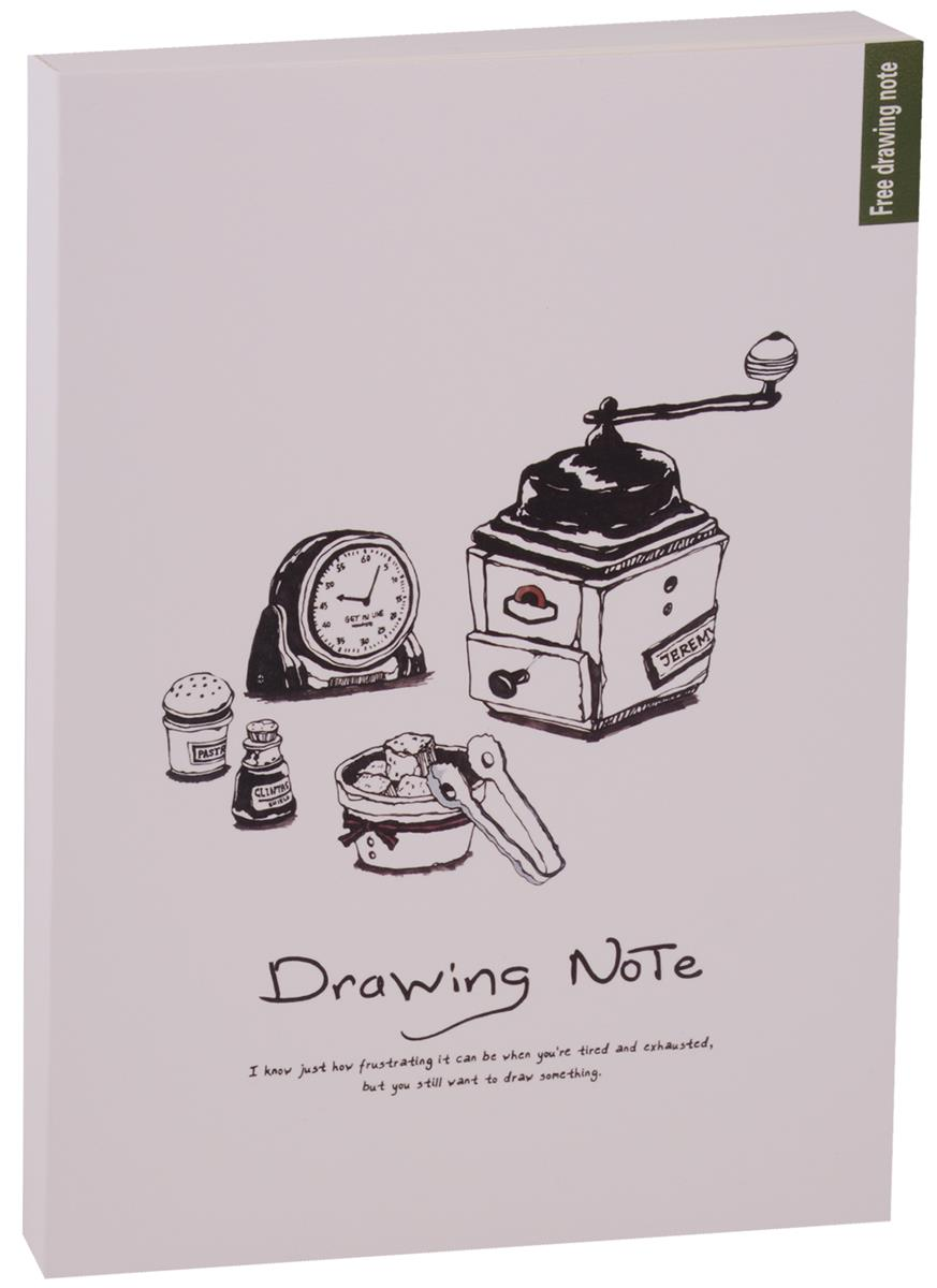 Скетчбук Drawing note (120л) (18,6х26)