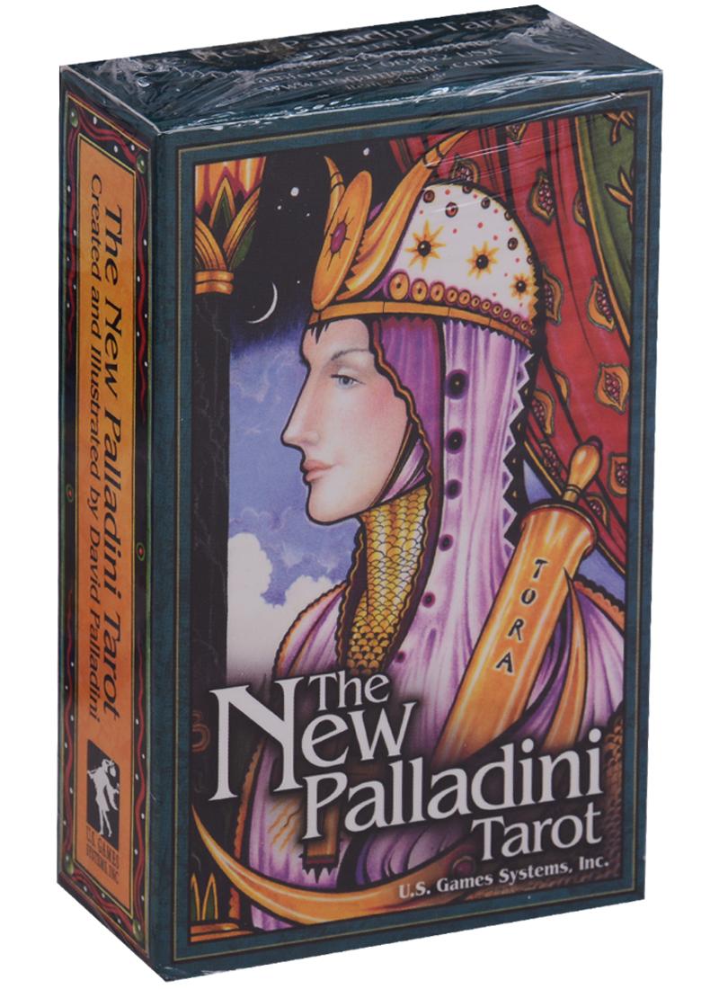 Palladini D. New Palladini Tarot / Новые Палладины Таро (карты + инструкция на английском языке) магические послания богинь 44 карты инструкция