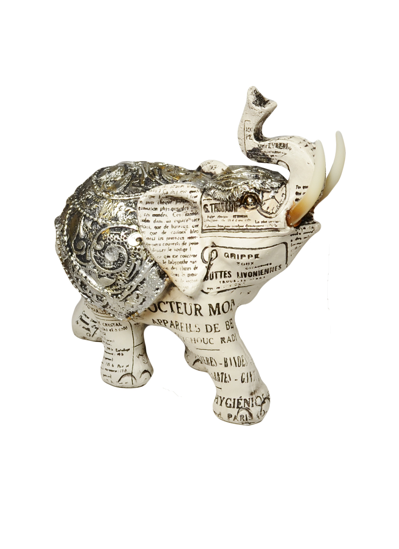 Фигурка полирезина Слон (14*7) (41385)