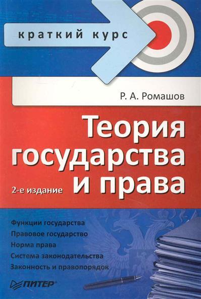 Теория государства и права Краткий курс