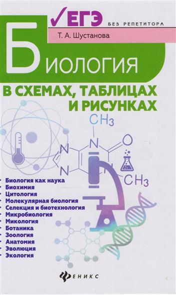 Шустанова Т. Биология в схемах, таблицах и рисунках. Учебное пособие