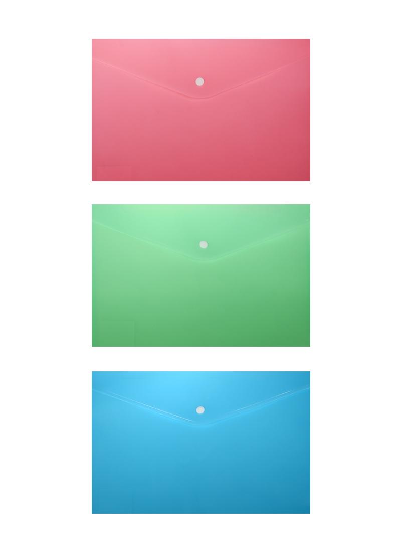 Папка-конверт А4 на кнопке