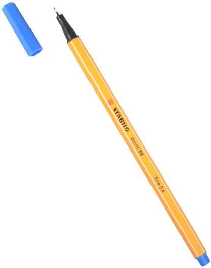 Ручка капиллярная синяя