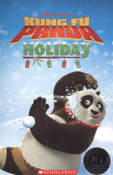 купить Silver S. Kung Fu Panda Holiday. Level 1 (+CD) дешево