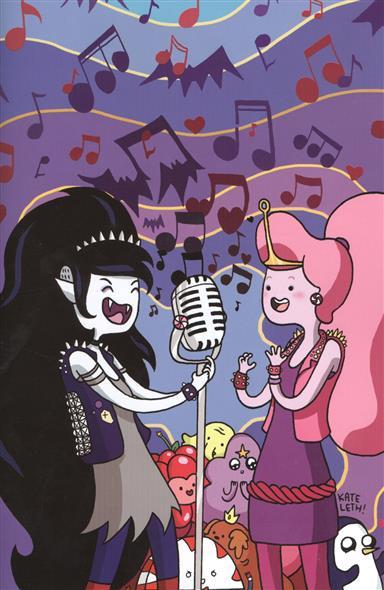 Время приключений. Adventure Time. Марселин и королевы крика. Часть 5