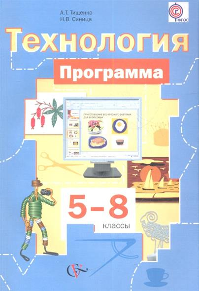 Технология. Программа. 5-8 классы (+CD)