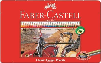 """Карандаши цветные """"Рыцарь"""", 36 цв., Faber-Castell"""