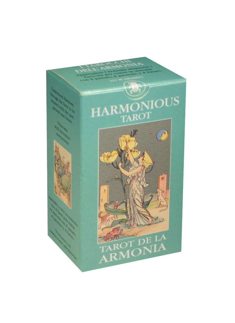 Мини Таро Гармония (Mini Tarot Harmonious) (на 5 языках: английский, итальянский, испанский, французский, немецкий) (MD21) (Аввалон)