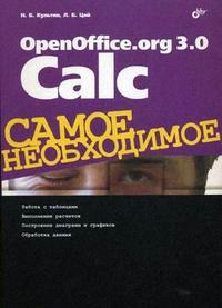 Культин Н.Б., Цой Л.Б. OpenOffice.org 3.0 Calc tefal ultimate anti calc fv9621e0